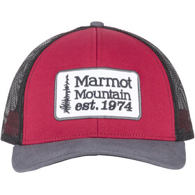 Marmot Retro Trucker Hat Sienna Red/Dark Steel